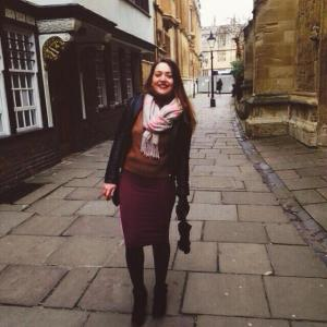 Walking around Oxford Streets